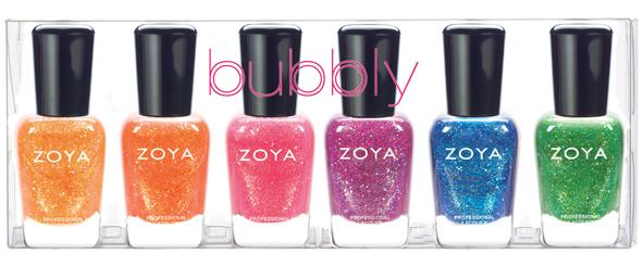 Zoya Bubbly Summer 2014