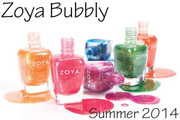 Zoya Summer 2014 Bubbly