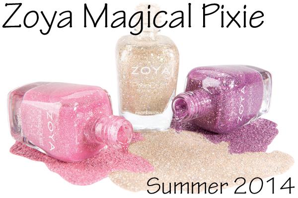 Zoya Summer 2014 PixieDust - Magical Pixie 2.0