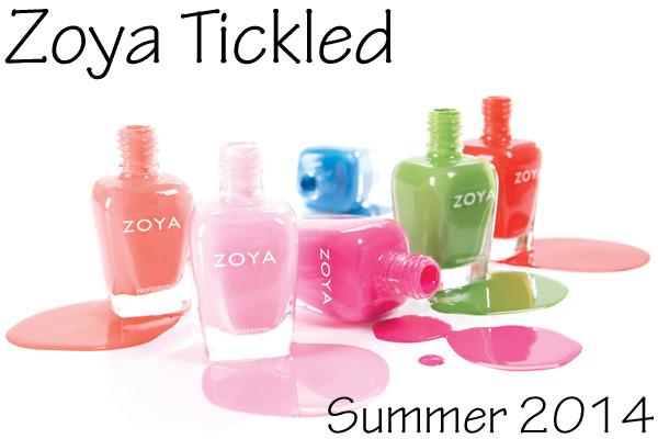 Zoya Summer 2014 - Tickled
