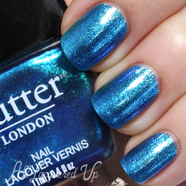butter LONDON Airy Fairy swatch - Summer 2014 via @alllacqueredup