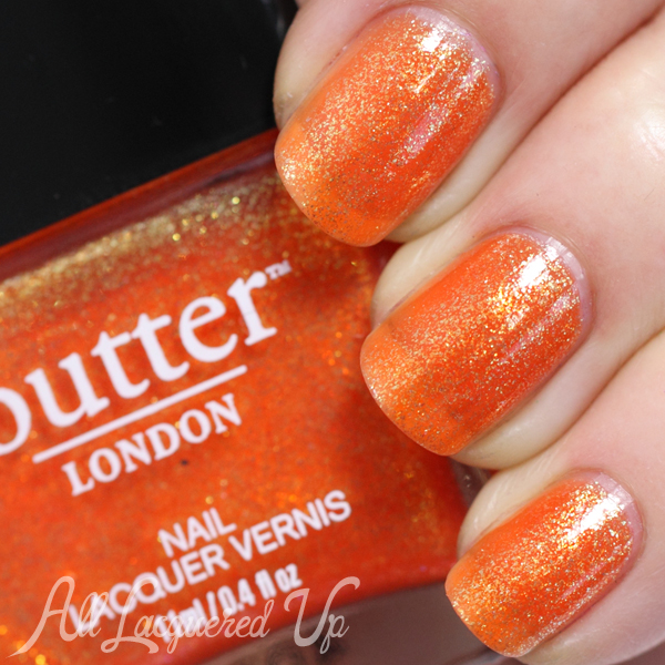butter LONDON Chuffed swatch - Summer 2014
