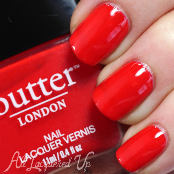 butter LONDON Ladybird swatch - Summer 2014