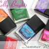 butter LONDON Lolly Brights for Summer 2014 – Swatches & Review