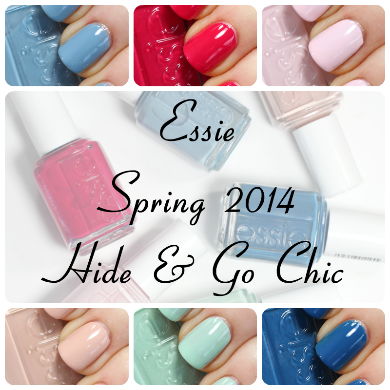 Essie Spring 2014 nail polish collection via @AllLacqueredUp