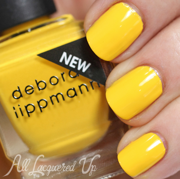 Deborah Lippmann Walking On Sunshine swatch