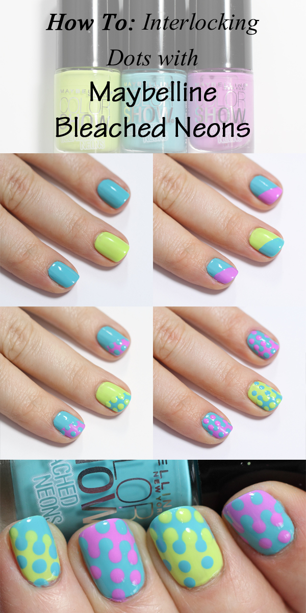 Interlocking Dots Nail Art Tutorial