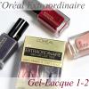 L'Oréal Extraordinaire Gel-Lacque 1-2-3 Swatches & Review