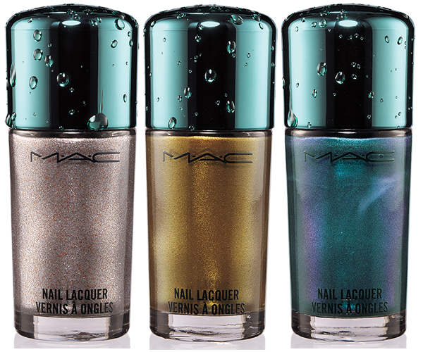 MAC Alluring Aquatic Nail Lacquers Summer 2014