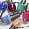 Morgan Taylor Island Treasures for Summer 2014 – Swatches & Review
