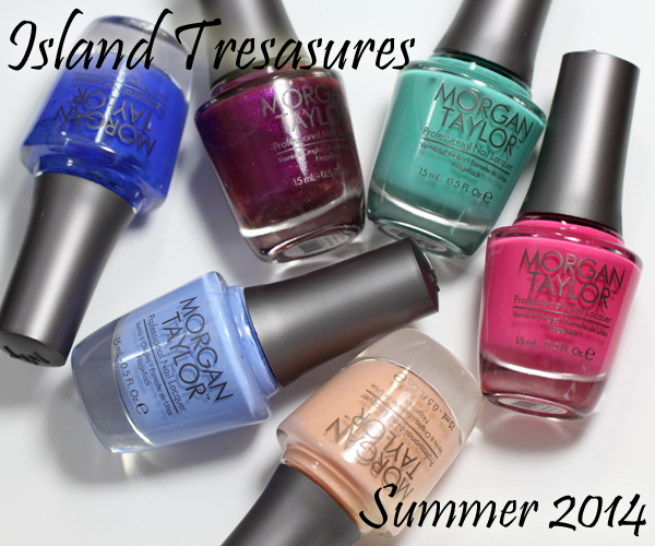 Morgan Taylor Island Treasures Summer 2014