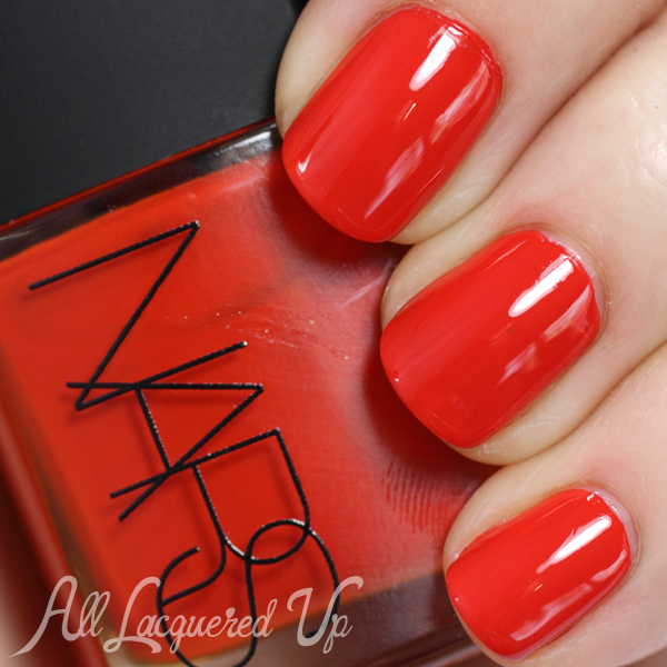 NARS Adult Swim nail polish swatch