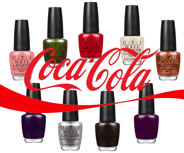 OPI Coca-Cola Nail Polish Collection