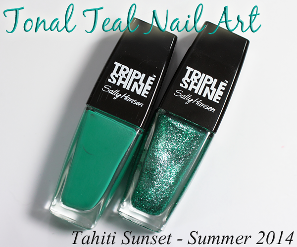 Sally Hansen Summer 2014 Triple Shine