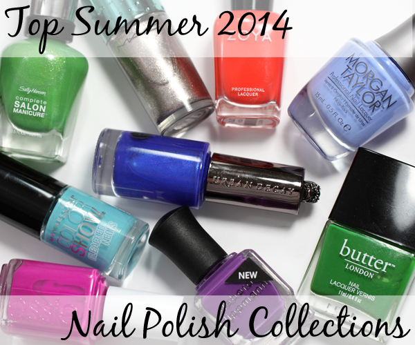 Top Summer 2014 Nail Polish Collections