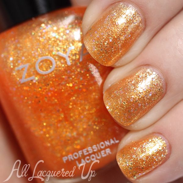 Zoya Alma swatch - Bubbly Summer-2014
