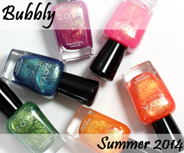 Zoya Bubbly for Summer 2014