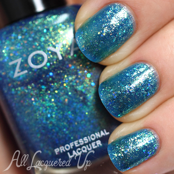 Zoya Muse swatch - Bubbly Summer 2014