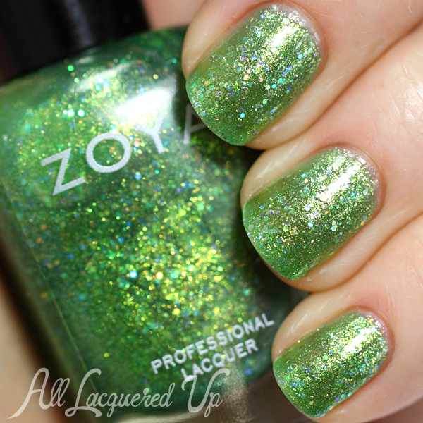 Zoya Staasi swatch - Bubbly Summer 2014