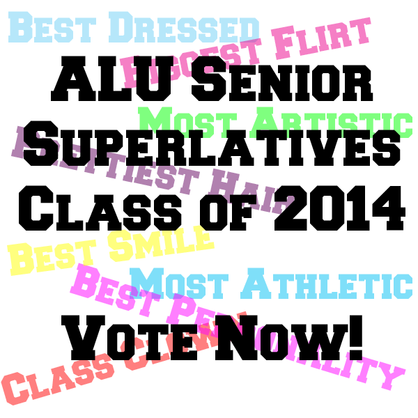 ALU Senior Superlatives Vote