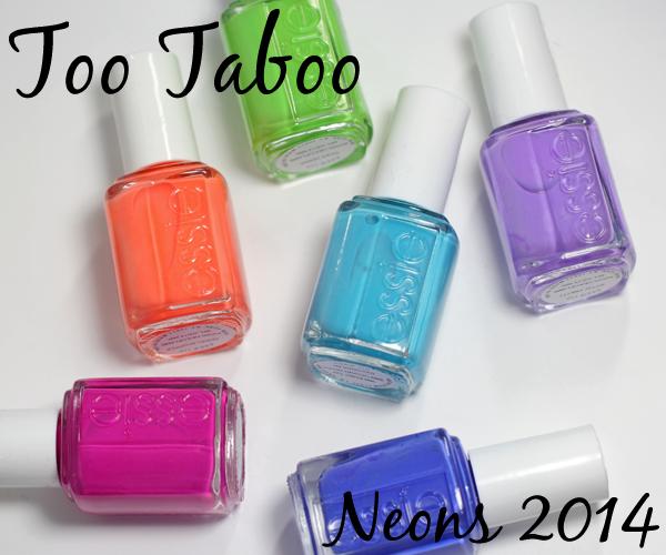Essie Neons 2014 Too Taboo