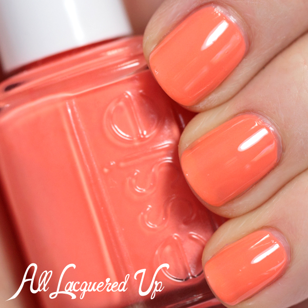 Essie Serial Shopper swatch - Neons 2014