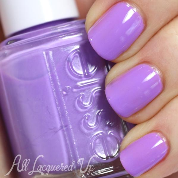 Essie Sittin' Pretty swatch - Neons 2014