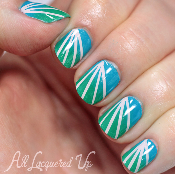 Essie Summer 2014 Nail Art