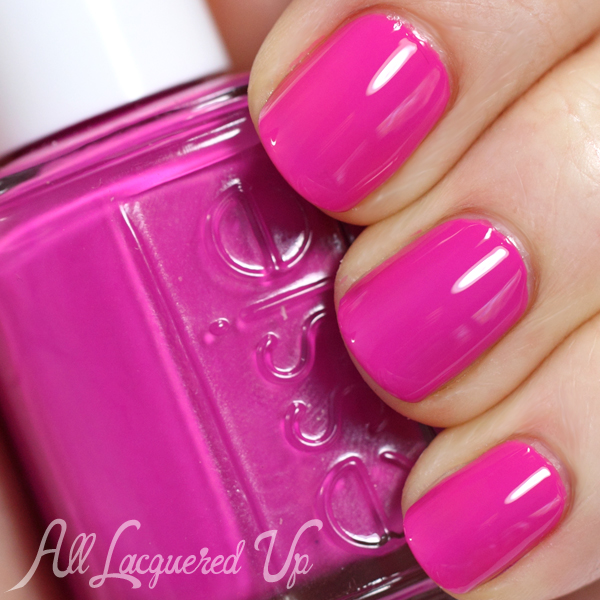 Essie Too Taboo swatch - Neons 2014
