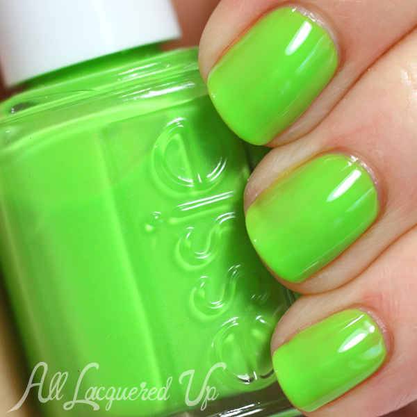 Essie Vices Versa swatch - Neons 2014