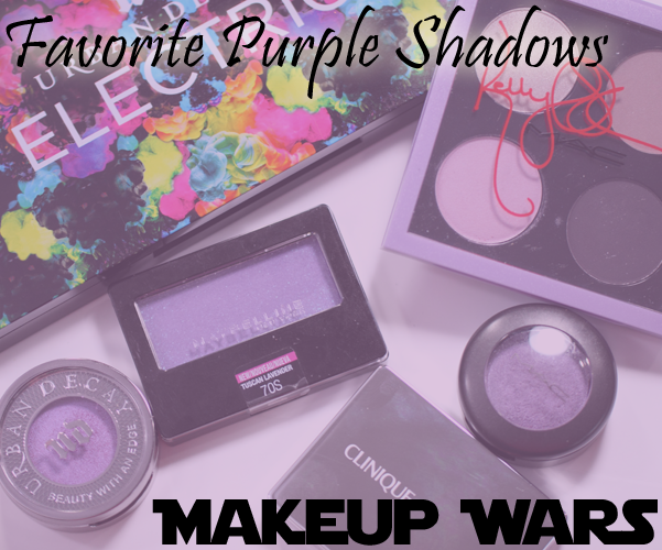 Makeup Wars – My Favorite Purple Eyeshadows
