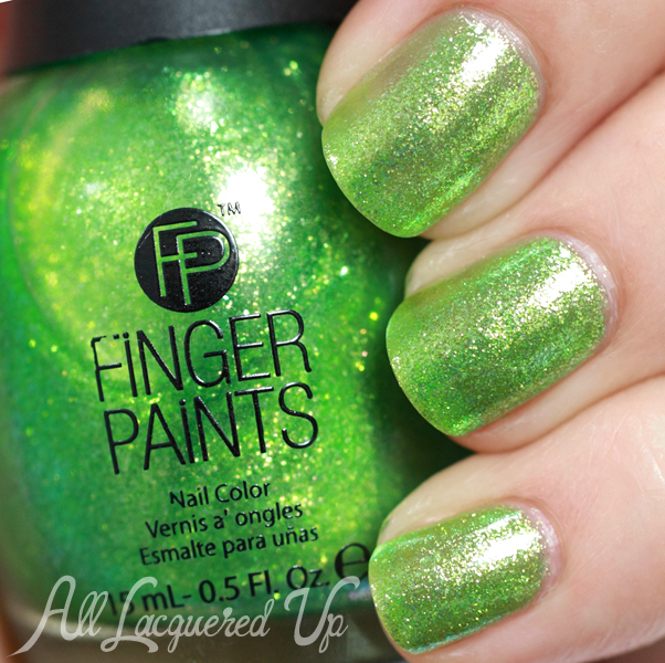 FingerPaints Margarita Mambo swatch - Poolside Paradise Summer 2014