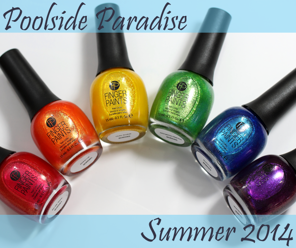 FingerPaints Poolside Paradise - Summer-2014