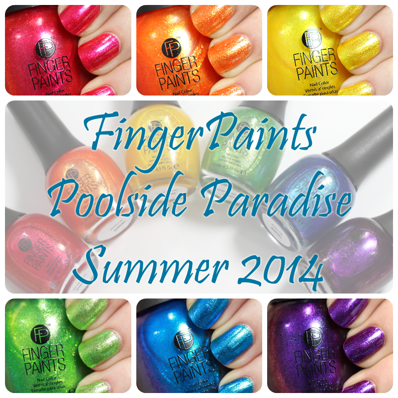 FingerPaints Summer 2014 Poolside Paradise