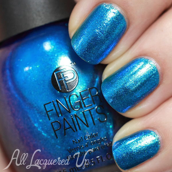FingerPaints Surf's Up swatch - Poolside Paradise Summer 2014