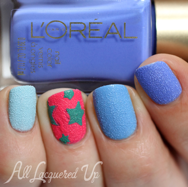 L'Oreal Miss Denim Summer 2014 Nail Art