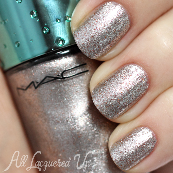 MAC Shimmerfish nail swatch - Alluring Aquatic