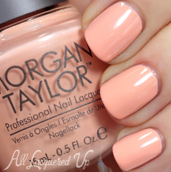 Morgan Taylor Beach Babe swatch