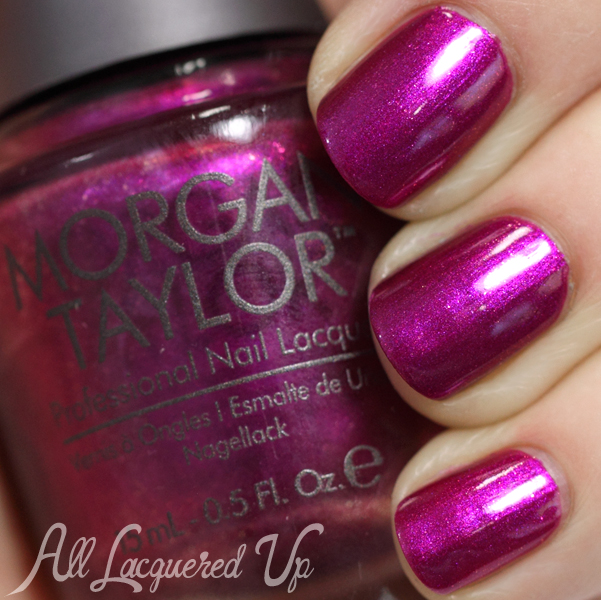 Morgan Taylor Sarong but So Right swatch