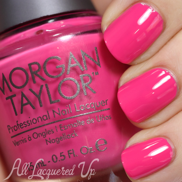 Morgan Taylor Tropical Punch swatch