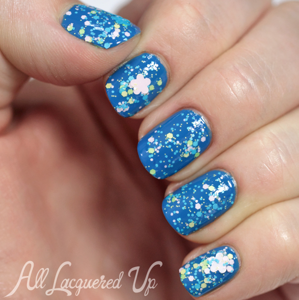 Nails Inc Floral Richmond Gardens swatch