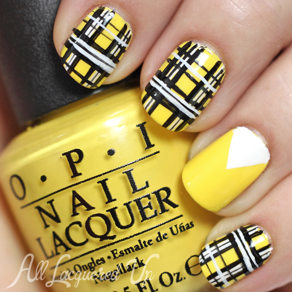 Famous Nail Polish To Wear With Red Dress Big Shades Of Purple Nail Polish Solid Cutest Nail Art How To Start My Own Nail Polish Line Old Foot Nails Fungus GrayWhere To Buy Opi Gelcolor Nail Polish Iggy Azalea Fancy   Plaid Nail Art Tutorial : All Lacquered Up