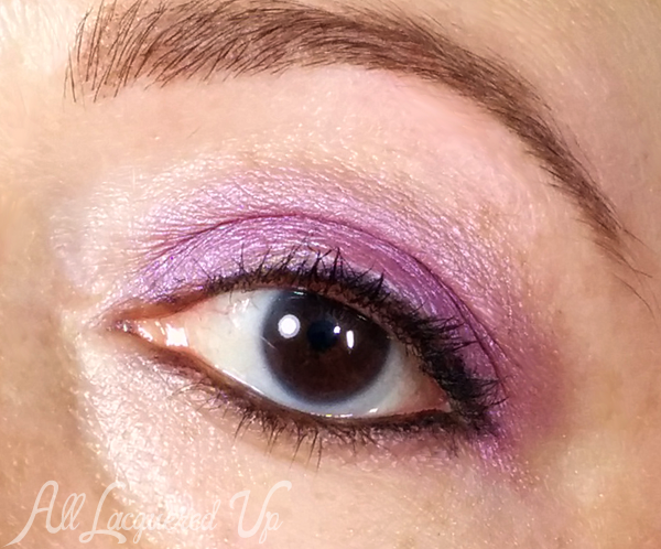 Urban Decay Fishnet eyeshadow look