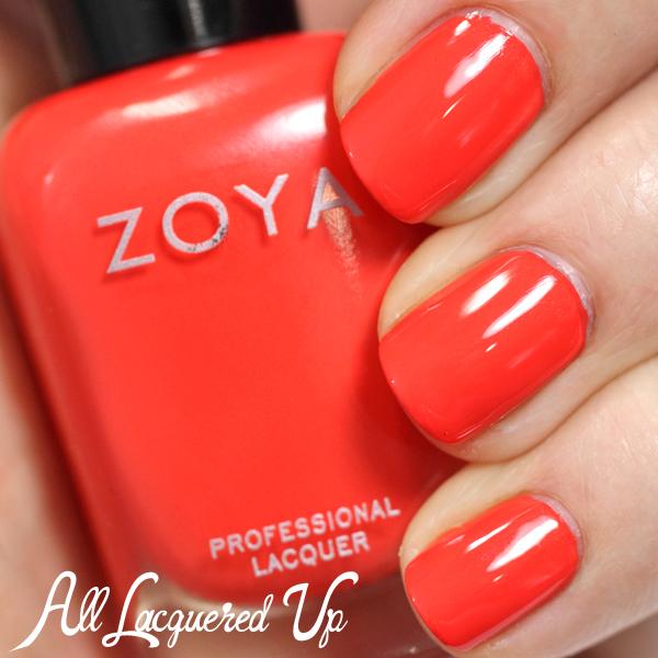 Zoya Rocha swatch - Summer 2014
