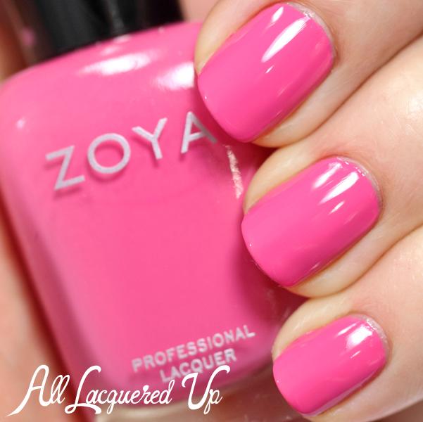 Zoya Rooney swatch - Summer 2014