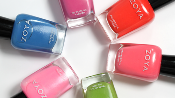Zoya Summer 2014 Tickled Collection Swatches & Review