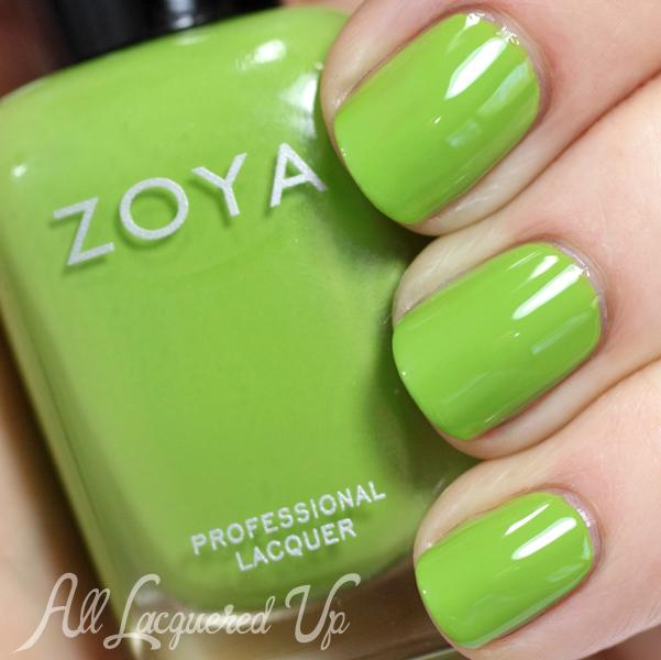 Zoya Tilda swatch - Summer 2014