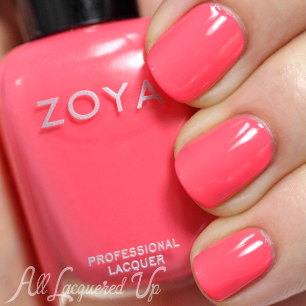 Zoya Wendy swatch - Summer 2014