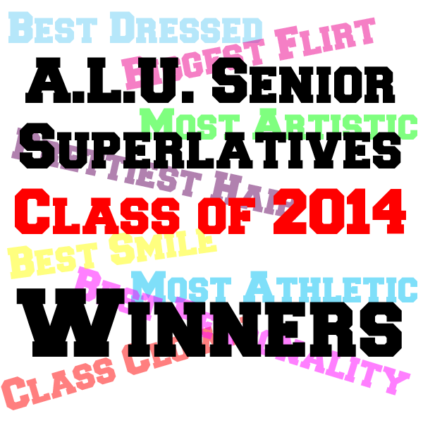 A.L.U. Senior Superlatives - Winners
