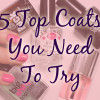 The 5 Best Top Coats To Try Now